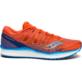 saucony Freedom ISO 2 Løpesko Herre Orange/Blå